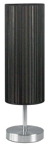 Ranex 6000.070 Lampe à Poser Udo Noire Abat- Jour en Fil Tendu
