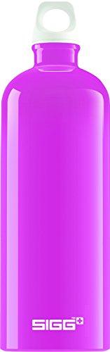 Trinkflasche Sigg Pink (SIGG Fabulous Pink, Design Trinkflasche, 1 L, BPA Frei, Aluminium, Pink)