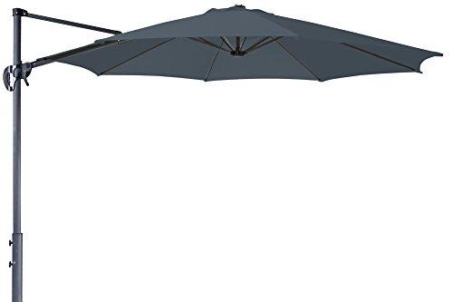 Derby Ravenna Smart 300 – Hochwertiger Ampelschirm ideal für Garten und Terrasse – Neigbar – ca. 300cm