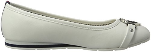 Tom Tailor 2790503, Ballerine Donna Bianco