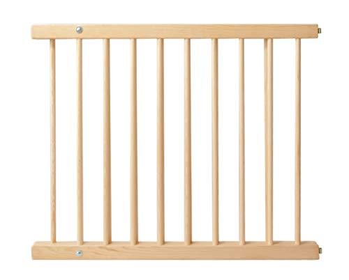 ISO TRADE Treppenschutzgitter Türgitter Klemmgitter Schutzgitter erweiterbar 72-122 cm Feststellfunktion Türschutzgitter Baby 8257