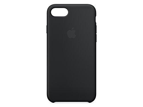 Apple iPhone 7 Silikon Hülle, Schwarz