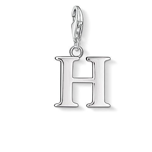 Thomas Sabo Women-Charm Pendant Letter J Charm Club 925 Sterling Silver 0184-001-12 TvBf0vedF