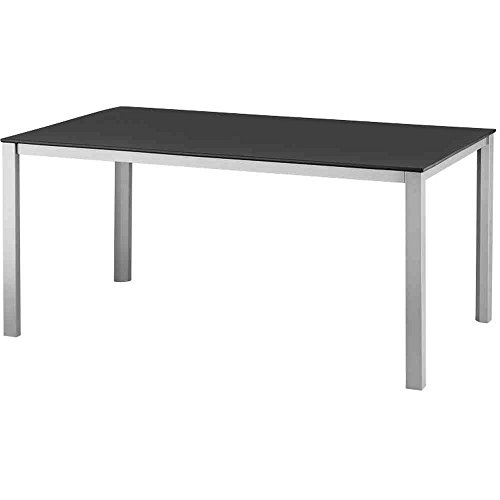 Kettler Tisch Kettalux-Plus, anthrazit, 160 x 95 x 74 cm