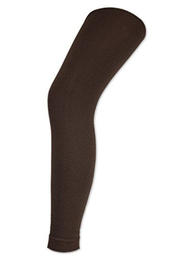 Damen THERMO Leggings mit Innenfleece extra warm Innenfutter Fleece Leggins - 89556 - sockenkauf24 (40/42, Schwarz) (Leggings Fleece)