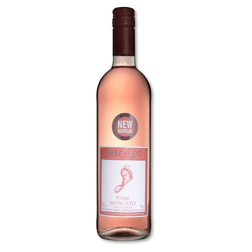 Barefoot Pink Moscato Non Vintage 75 Cl (case Of 6)