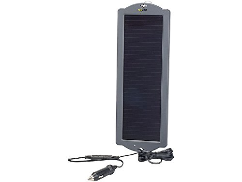 MASO Panneau Solaire Chargeur de Batterie D Entretien 4,5/W 12/V Chargeur de Batterie de Voiture D Entretien pour Bateau Yacht Courant dext/érieur