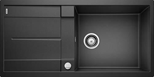 Blanco Küchespüle Metra (60 cm Unterschrank - XL-Becken), anthrazit, 515286 - Kratzfeste Arbeitsfläche