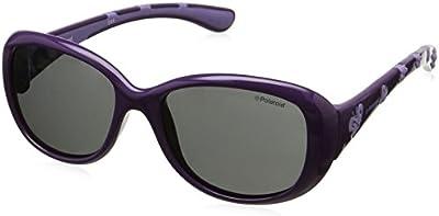 Polaroid - Gafas de sol Rectangulares P0411 para niños