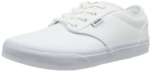 Vans Atwood Unisex-Kinder Sneakers, Weiß ((Canvas) white/ / 7HN), 38 (Weiße Canvas-sneakers)