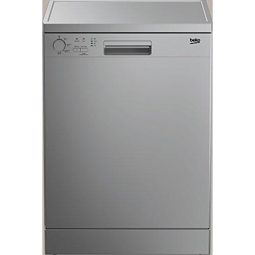 31Vi8BYyiwL. SS500  - Beko DFN04210S 12 Place Dishwasher in Silver A+ Basket Adjustable 4 Programmes