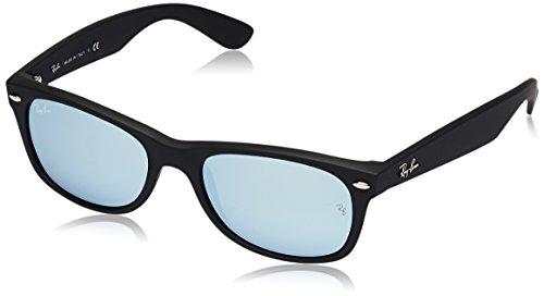 Ray Ban Unisex Sonnenbrille RB2132, Gr. 52mm (Gestell: schwarz,Gläser: grün gespiegelt silber)