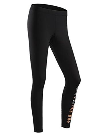 YeeHoo Pantalons Femmes Gymnastique Athlétique Gymnastique Fitness Leggings Yoga Pantalons Hauts Hauts