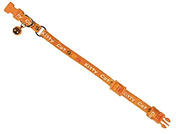 Nobby Kitty Cat Collier pour Chat Orange 8 mm x 16-22 cm