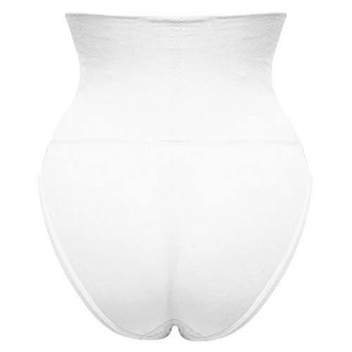 Trend4You Shapewear Miederslip Hochbund Weiß