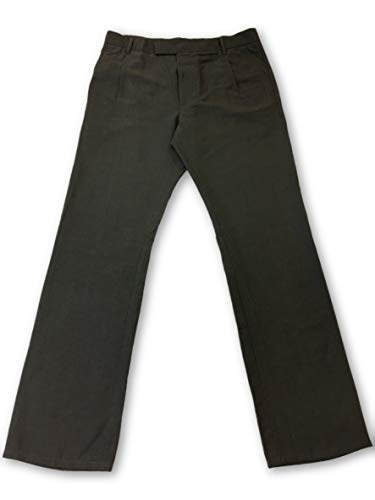 Wool Zip-fly Hose (Strellson Chinos in Grey - W34)