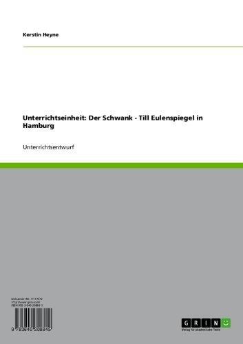 Unterrichtseinheit: Der Schwank - Till Eulenspiegel in Hamburg