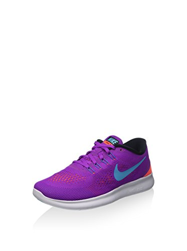 Nike Free Run, Chaussures de Running Entrainement femme Violet (Hyper Violet/Black/Total Crimson/Gamma Blue)
