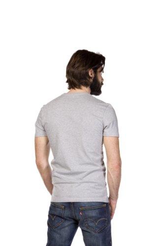 Levi's - 2 Pack Tee, T-shirt da Uomo Bianco (Mid Mele /White60)