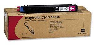 Konica Minolta 8938135 Magicolor 7300 Tonerkartusche, 7.500 Seiten, magenta