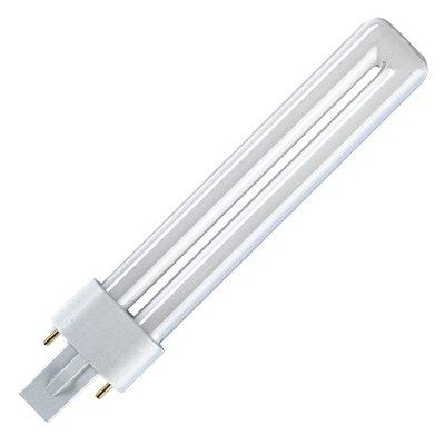 Osram Kompaktleuchtstofflampe Dulux S 11 W 827 Sockel G23 von Osram