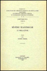 Severe D'antioche. Le Philalethe. Syr. 68. par R Hespel