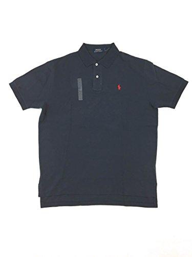 POLO RALPH LAUREN Herren Poloshirt Custom Fit Small Pony Black