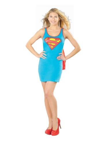en Kleid, Größe:L (Superman Halloween Kostüm Für Männer)
