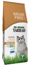Yarrah Bio Katzenfutter Huhn & Fisch Getreidefrei 2 x 800g
