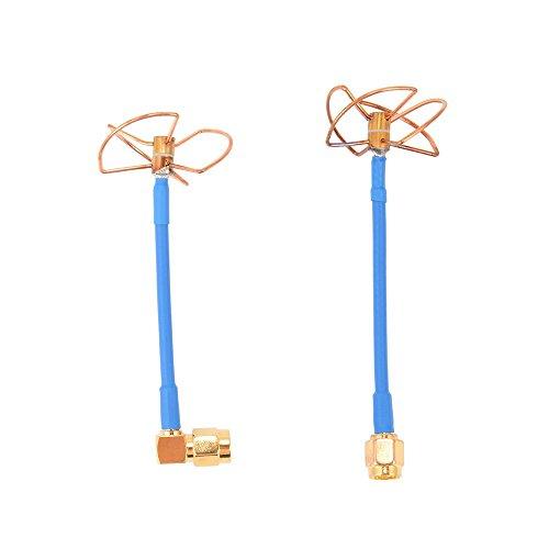 XCSOURCE® FPV 5.8Ghz Antena de hoja de trébol Conjunto de antena de alto ganancia RP-SMA Enchufe para Quadcopter Multirotor FPV Fotografía aérea RC205