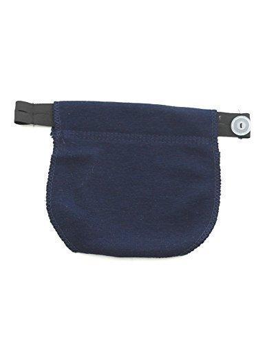 Extension de pantalon Caoutchouc de bande de ventre Grossesse extension de pantalon-jupe bleu foncé