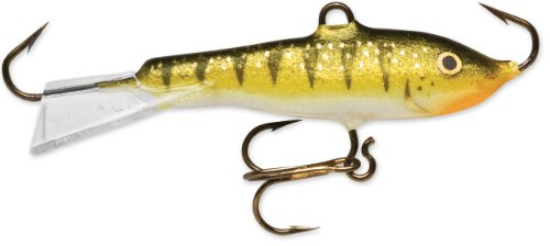 Rapala Jigging Rap 02 Angelköder, 3,8 cm, Glow Yellow Barch (Ice Jigging Rapala Fishing)