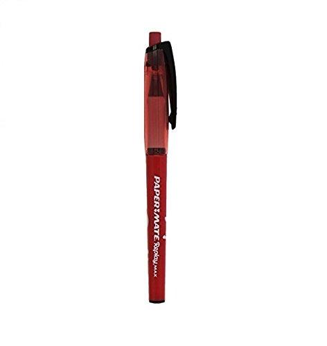 Papermate replay max penna a sfera cancellabile, colore rosso