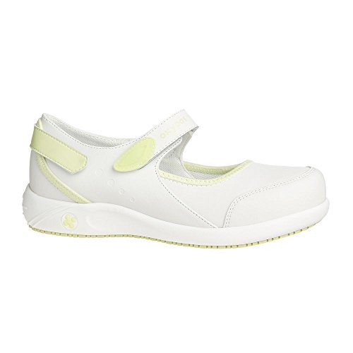 Oxypas Nelie, Women's Safety Shoes, White (Wht),7 UK(41 EU) Nero (BLK)