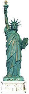 Statue of Liberty Replica - 4 Copper, Statue of Liberty Souvenirs, NY Souvenirs by Great Places To You