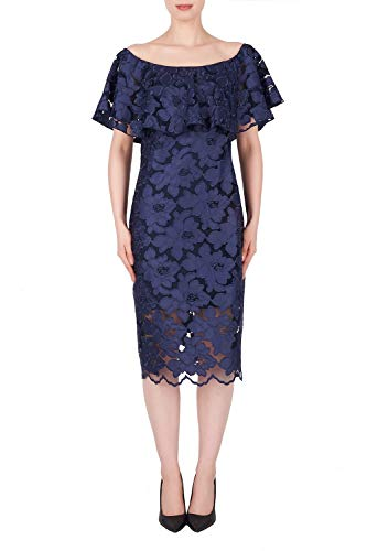 Joseph Ribkoff Navy Dress Style 191492 - Spring 2019