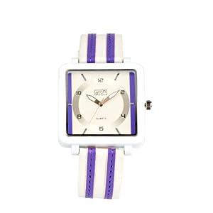Eton 2899-6 – Reloj para Mujer, Correa de plástico Color Blanco