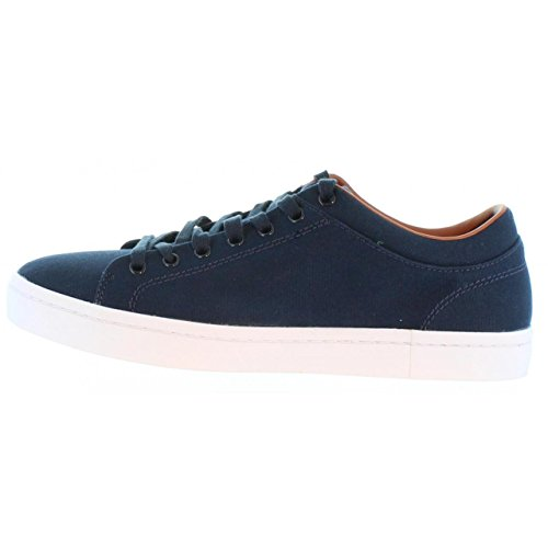 Lacoste Uomo Straightset SPM Canvas Trainers, Blu Blue