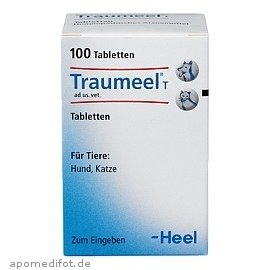 Traumeel T ad us. vet, 100 St. Tabletten