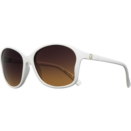 Vonzipper Runaway Sunglasses White/Gradient Lens Mens