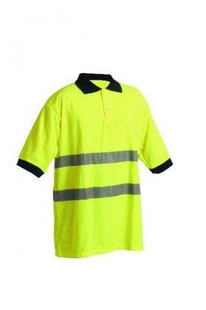 AVALON Polo-Shirt gelb Warnschutzkleidung L - Avalon Polo