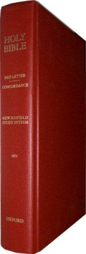 Holy Bible: Scofield Study System- NIV (Scofield Study Bible-niv)