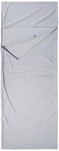 ALPIDEX Policotone Sacco Lenzuolo POCKET PETER sacco letto Campeggio Viaggio Comodo Liner per sacco a pelo, Colore:White Snow