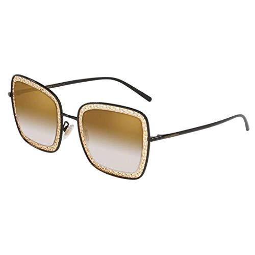 Ray-Ban Damen 0DG2225 Sonnenbrille, Schwarz (Black), 52.0