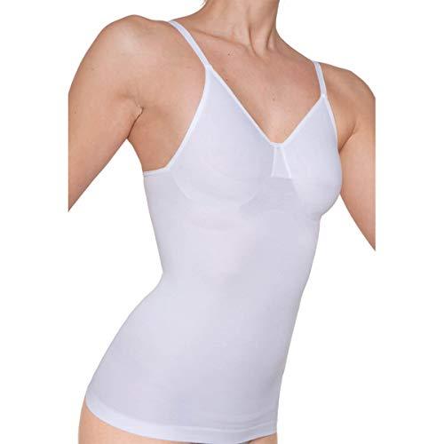Bügel-hemdchen (Skin Wrap Shapewear Hemdchen ohne Bügel in Weiß Größe 44 / XL)