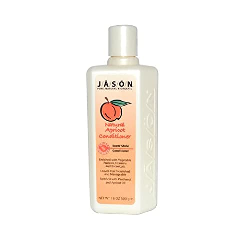 Jason Super Shine Natural Conditioner Apricot - 16 Fl Oz by Jason Natural Products