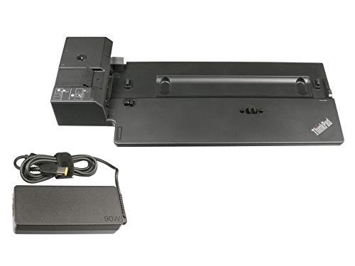 Lenovo Docking Station inkl. Stecker Netzteil (EU) - Basic Docking - Original ThinkPad L480 (20LS/20LT) Serie -