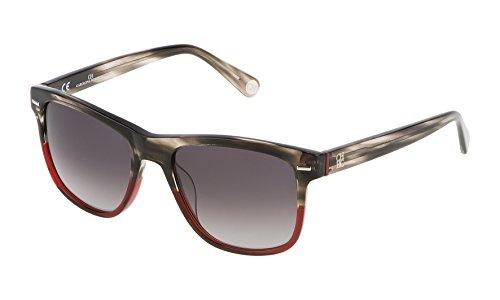 Carolina herrera she608540v16, occhiali da sole donna, viola (morado), 54