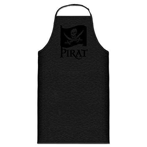 Shirtcity Pirat Flag Kochschürze by -