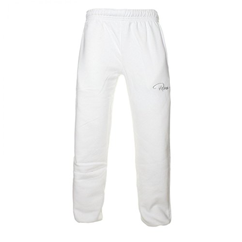 Redrum Unisex Jogginghosen »Plain« Weiß